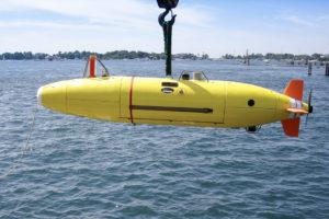 Autonomous Kongsberg HYDROID Deepsea Vehicle REMUS 6000