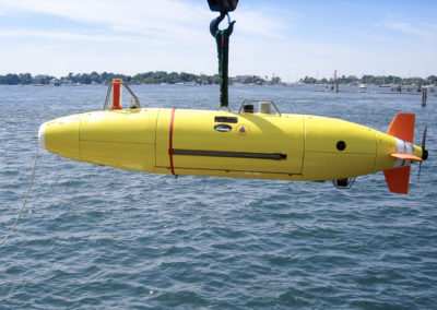 Autonomous Kongsberg HYDROID Deepsea Vehicle REMUS 6000 which was named ABYSS by GEOMAR, and found the AIR FRANCE airplane in almost 4,000 m depth off Brasil in 2009