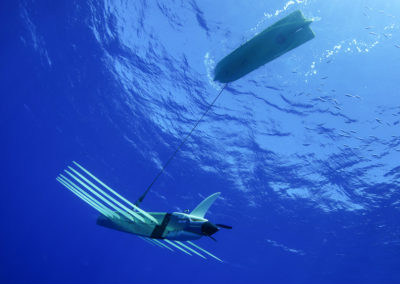 LIQUID ROBOTICS Wave Glider in actual operation
