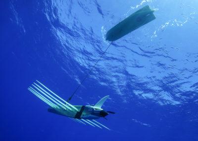 LIQUID ROBOTICS Wave Glider in actual operation