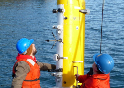 McLane Moored Profilers MMP autonomously collect oceanic data along a moored cable
