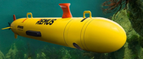 REMUS 100 underwater drone