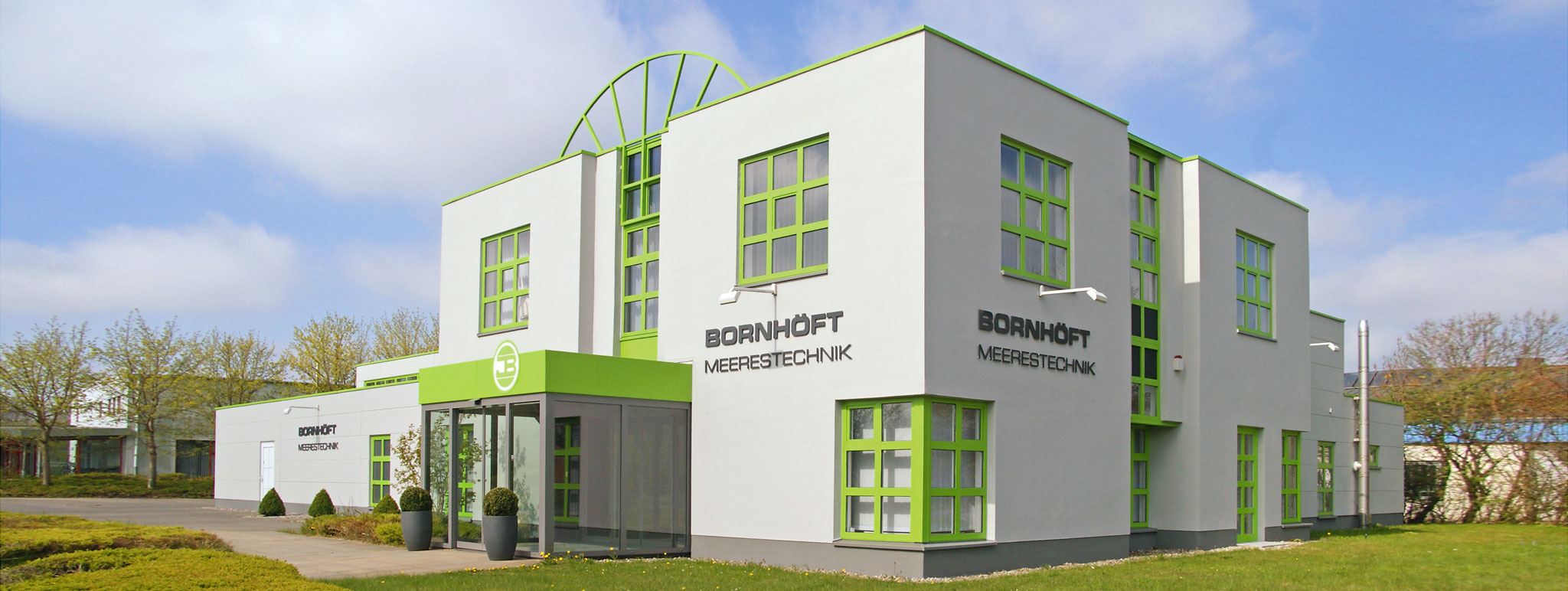 Bornhöft Heerestechnik - Firmengebäude in Kiel