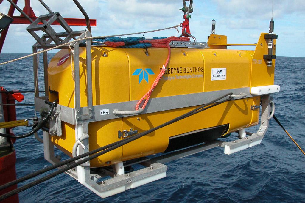 Bundesanstalt für Geowissenschaften und Rohstoffe berichtet über den erfolgreichen Einsatz des BENTHOS Deeptow Systems C3D