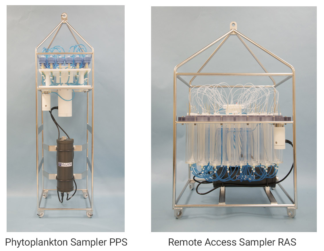 Phytoplankton-Sampler-PPS and Remote-Access-Sampler-RAS